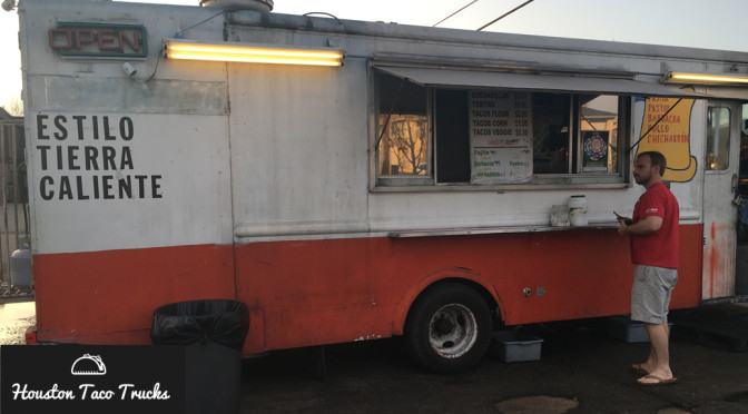 Tacos Tierra Caliente - a Houston Taco Truck